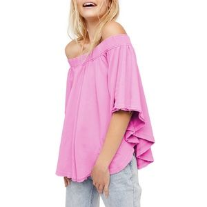 Free People New Kiss Me tube Off the Shoulder